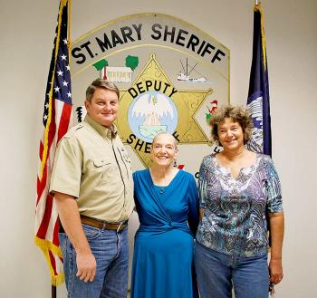 Family of deceased deputy gives gift to sheriff's office | StMaryNow