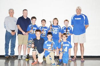 The Warriors finished runner-up in the Berwick-Bayou Vista Flag Football  League this season. Team members include db8546157